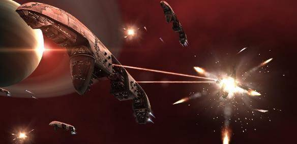 EVE Online MMO game